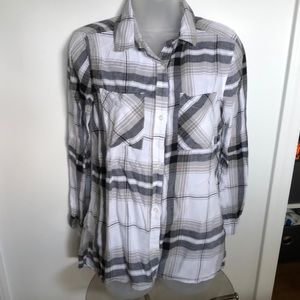 BP Plaid Flannel Shirt. A Great layering piece